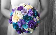 Blue Flowers For Wedding 12 Desktop Background