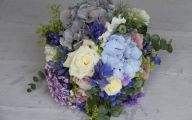 Blue Flowers For Wedding 3 Widescreen Wallpaper