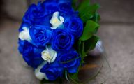 Blue Flowers For Wedding 4 Widescreen Wallpaper