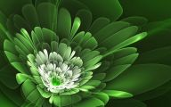 Green Flowers Hd 12 Background Wallpaper