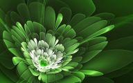 Green Flowers Hd 12 Background Wallpaper