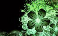 Green Flowers Hd 17 Desktop Background