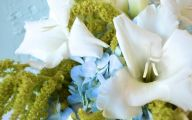 Green Flowers Wedding 14 Free Wallpaper