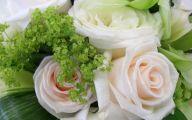 Green Flowers Wedding 3 Free Hd Wallpaper
