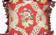 Red Flower Throw Pillows 35 Hd Wallpaper
