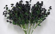 Black Flowers Artificial 20 Desktop Background