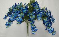 Blue Flowers Artificial 14 Cool Hd Wallpaper