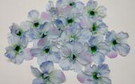 Blue Flowers Artificial 26 Desktop Background