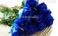 Blue Flowers Artificial 30 Free Hd Wallpaper