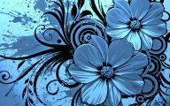 Blue Flowers Available In October 19 Background