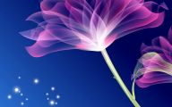 Blue Flowers Background 9 Hd Wallpaper