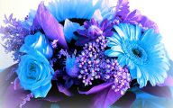 Blue Flowers Bouquet 18 Cool Wallpaper