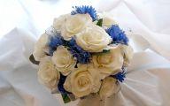 Blue Flowers Bouquet 29 Hd Wallpaper