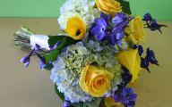 Blue Flowers Bouquet 4 High Resolution Wallpaper