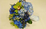 Blue Flowers Bouquet 7 High Resolution Wallpaper