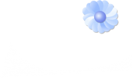 Blue Flowers Clip Art 2 Desktop Background