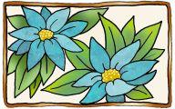 Blue Flowers Clip Art 22 Free Hd Wallpaper