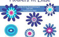 Blue Flowers Clip Art 30 Free Hd Wallpaper