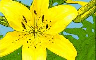Blue Flowers Clip Art 31 Desktop Background