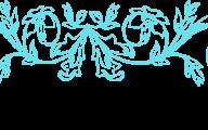 Blue Flowers Clip Art 7 Background