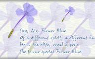 Blue Flowers Dr Octagon 15 Free Wallpaper