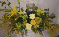 Flowers Green Bay 24 Wide Wallpaper