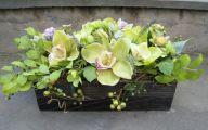 Green Flowers Arrangements 29 Background