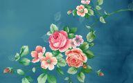 Green Flowers Art 18 Cool Hd Wallpaper
