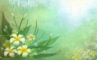 Green Flowers Art 30 Cool Hd Wallpaper