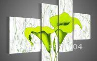 Green Flowers Art 34 Hd Wallpaper
