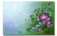Green Flowers Art 5 High Resolution Wallpaper
