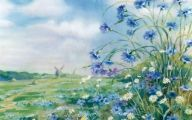 Lovely Blue Flowers  41 Hd Wallpaper