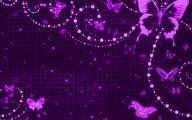 Lovely Lady Purple Flowers 1 Cool Wallpaper