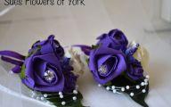 Lovely Lady Purple Flowers 33 Hd Wallpaper