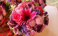 Pink Flowers Bouquet 23 Wide Wallpaper
