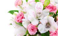 Pink Flowers Bouquet 27 Free Wallpaper