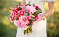 Pink Flowers Bouquet 3 High Resolution Wallpaper