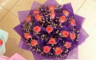 Pink Flowers Bouquet 30 Wide Wallpaper