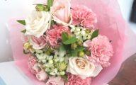 Pink Flowers Bouquet 9 Cool Wallpaper
