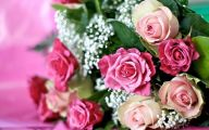 Pink Flowers Breast Cancer 2 Free Hd Wallpaper