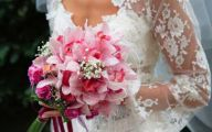 Pink Flowers For Wedding 14 Background Wallpaper