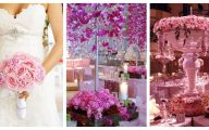 Pink Flowers For Wedding 21 Background Wallpaper
