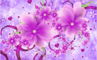 Pink Flowers Wallpaper 3 Wide Wallpaper