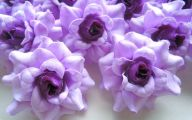 Purple Flowers Artificial 29 High Resolution Wallpaper