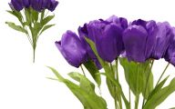 Purple Flowers Artificial 35 Hd Wallpaper