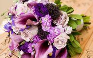 Purple Flowers Bouquet 12 Desktop Background