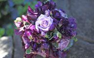 Purple Flowers Bouquet 19 Desktop Background