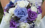 Purple Flowers Bouquet 21 Free Hd Wallpaper