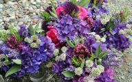 Purple Flowers Bouquet 23 Desktop Background