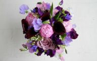 Purple Flowers Bridal Bouquet 13 Hd Wallpaper